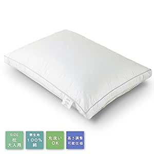 NOVA 枕 安眠 人気 肩こり まくら 快眠枕 高級ホテル仕様 安眠枕 高反発枕 横向き対応 丸洗い可能 高さ調節可能 立体構造 43x63cm(単品)