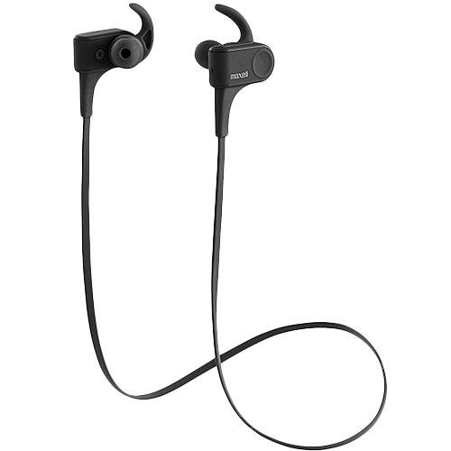 Maxell Bluetooth対応スポーツ用ワイヤレスカナル型ヘッドホン  MXH-BTSP600BK (ブラック)