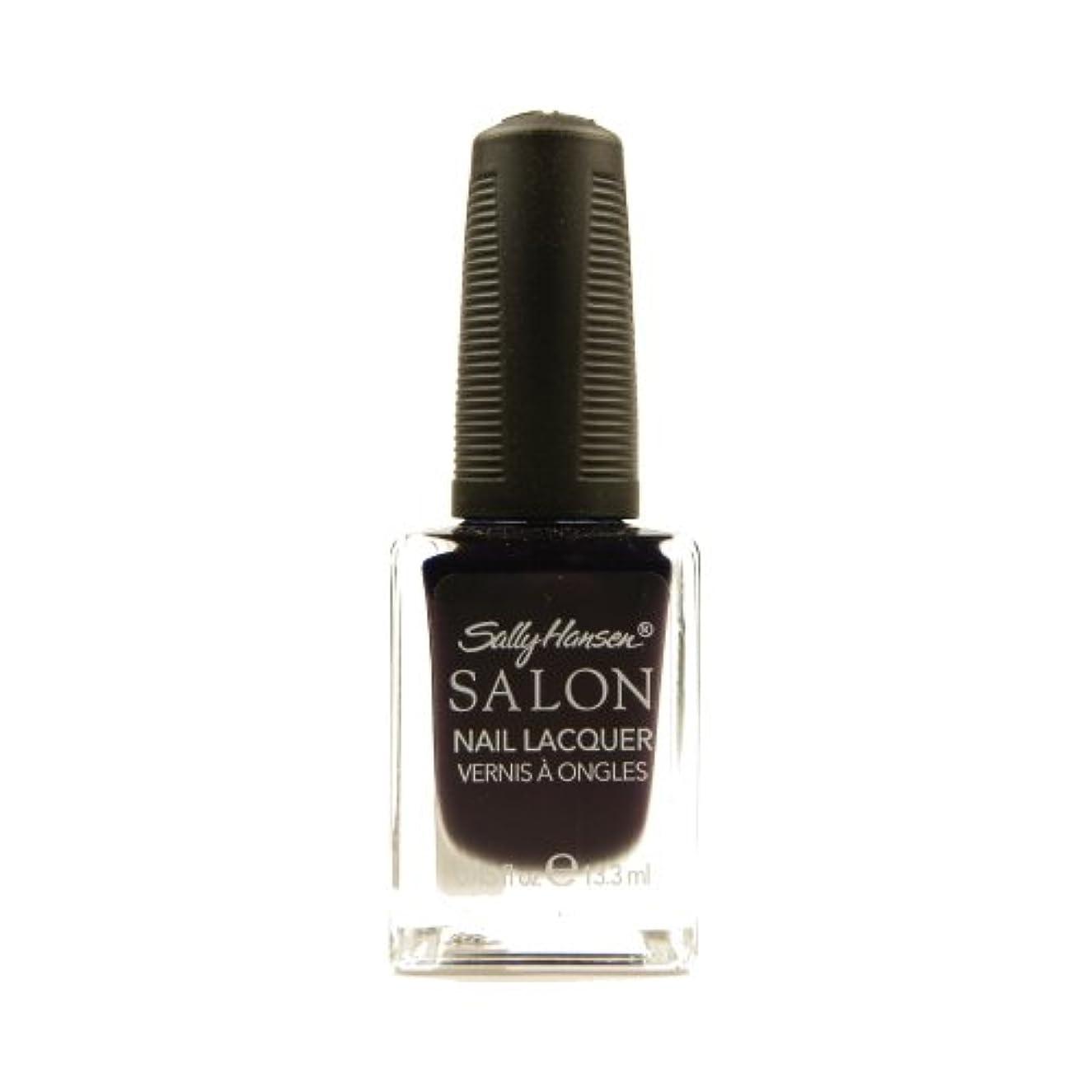 ペナルティ召喚するバイオリニストSALLY HANSEN Salon Nail Lacquer 4134 - The Deepest of Violets (並行輸入品)