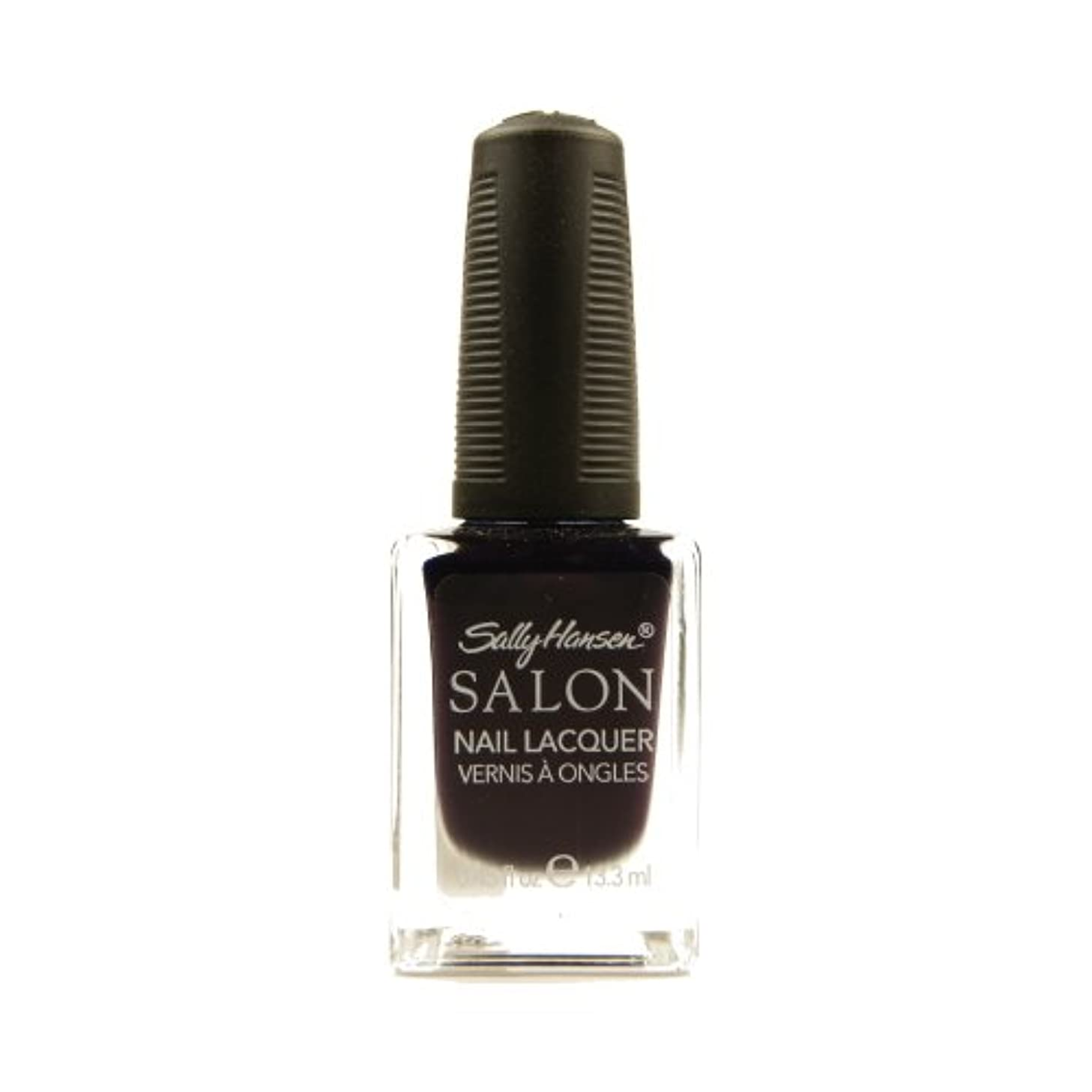 たるみ複数カートリッジSALLY HANSEN Salon Nail Lacquer 4134 - The Deepest of Violets (並行輸入品)