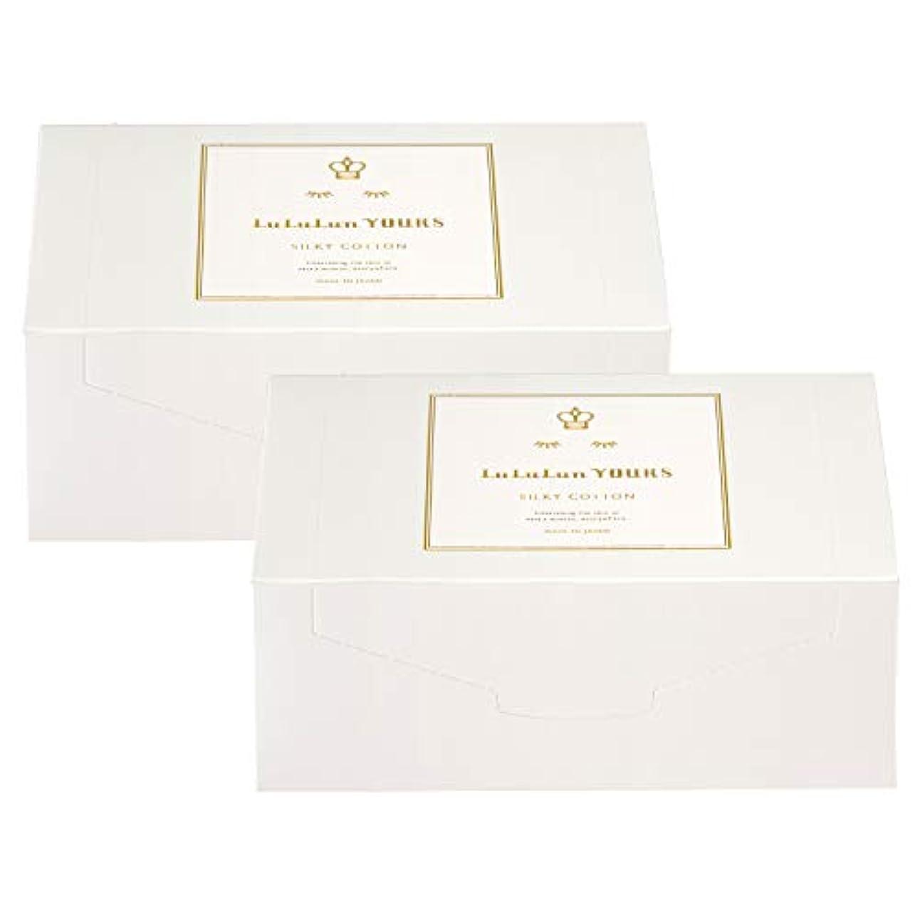 望ましい交通刺繍ルルルンユアーズ ふき取り専用シルキーコットン 2箱セット(120枚×2)