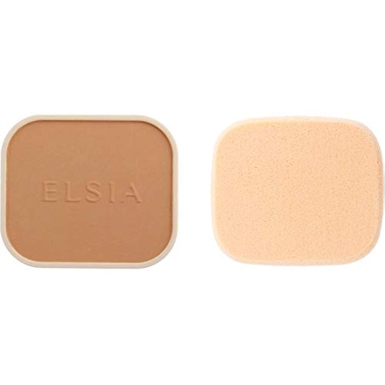 霜意味のある高めるエルシア プラチナム 化粧のり良好 モイストファンデーション(レフィル) オークル 415 9.3g