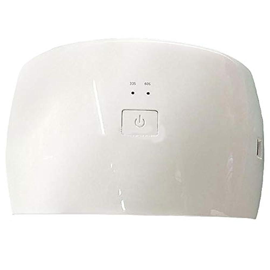 自分のメディカルディスパッチ36個セット UVとLEDダブルライトネイルドライヤー 赤外線検知タイマー機能