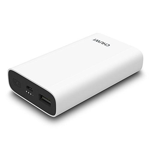 ChuWi Hi Power モバイルバッテリー 10050mAh Power Bank 携帯電話 急速充電 iPhone&Android対応 大容量 Quick Charge 3.0対応 ポータブル充電器 (白)