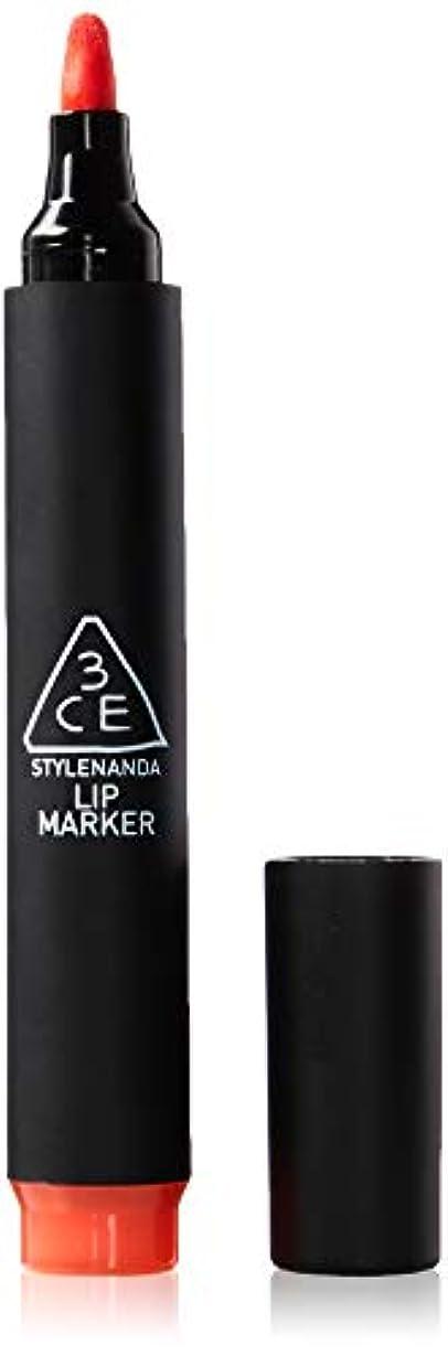 レッドデート軽蔑ピル3CE [韓国コスメ 3CE] リップマーカーティント 3CE Lip Marker 3CE (7.Red)