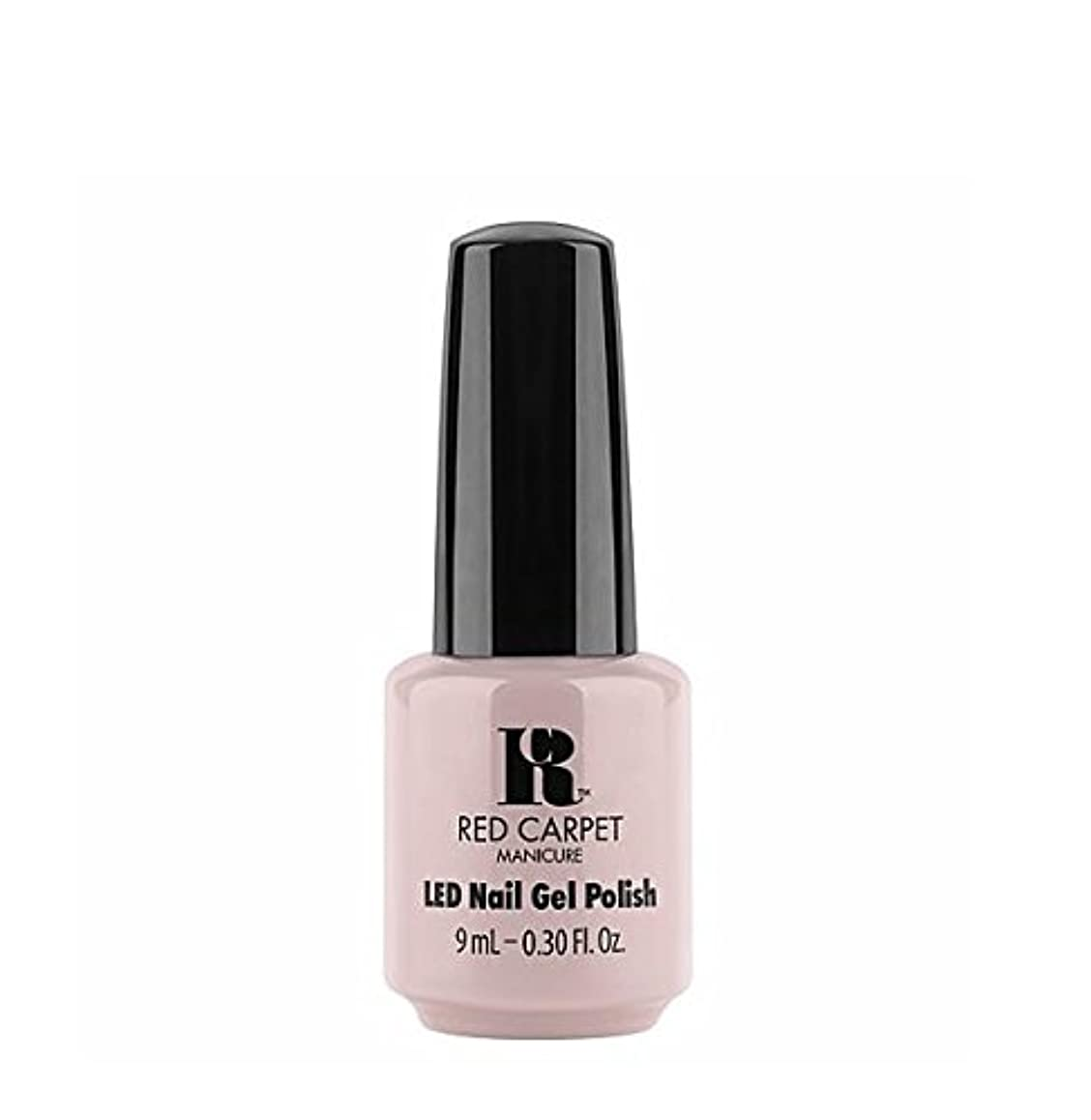 可塑性希少性反乱Red Carpet Manicure LED Gel Polish - Cozy In the New Chic - 9 ml/0.30 oz