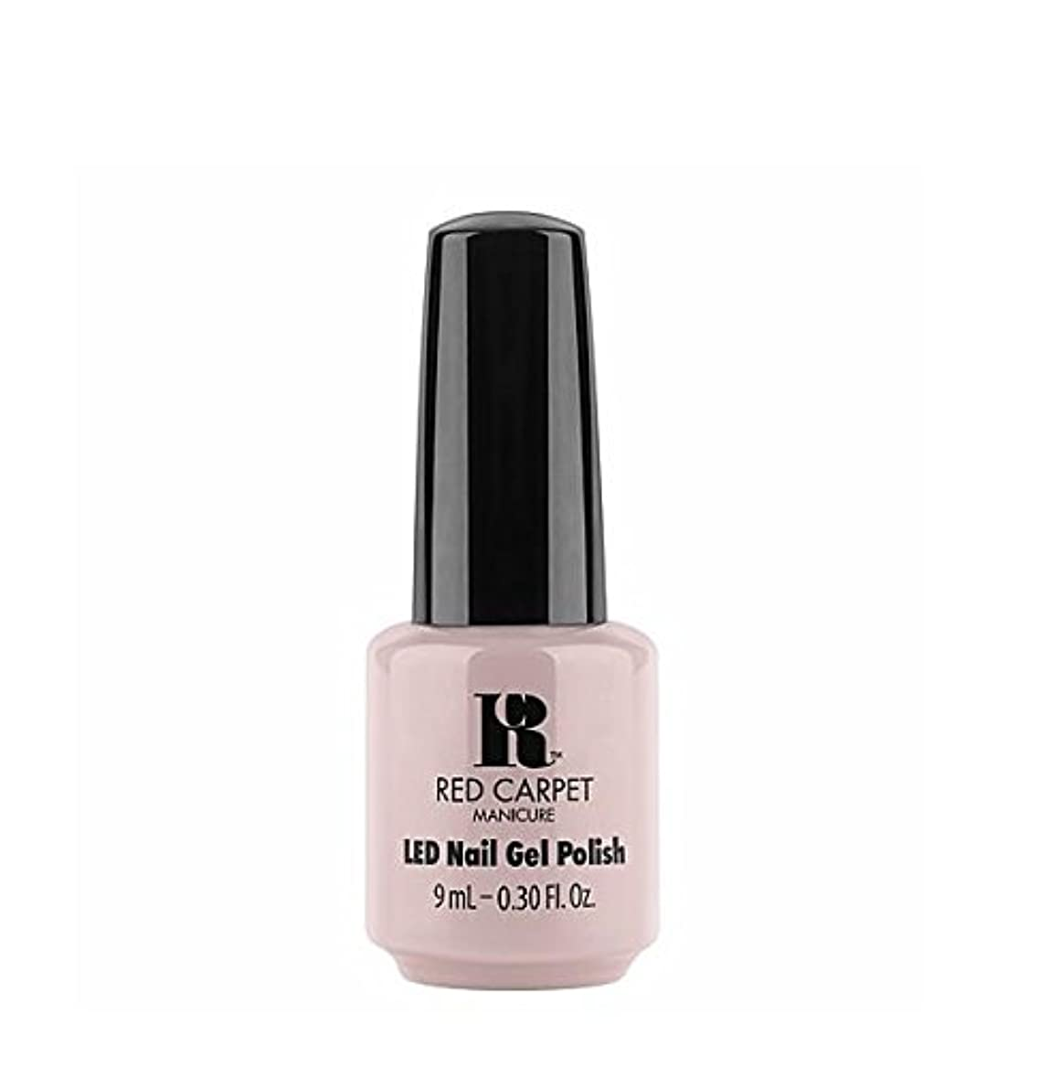 解放飛躍監督するRed Carpet Manicure LED Gel Polish - Cozy In the New Chic - 9 ml/0.30 oz