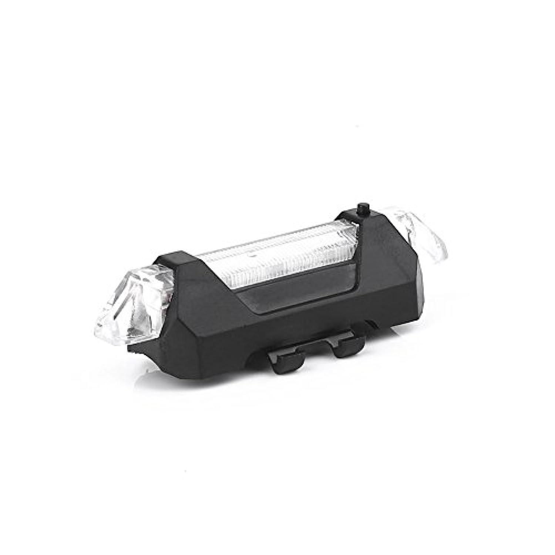 Beautyrain 1個 5 LED有料自転車リアバックテール 点滅セーフティライト警告灯 MTB BMXマウンテンロードバイクサイクリング用 贈り物