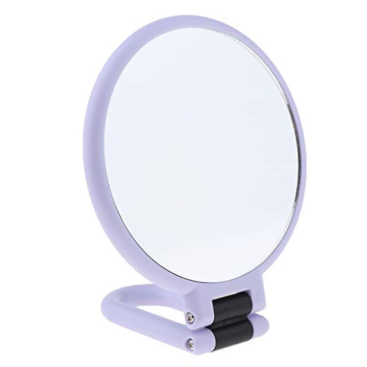 レオナルドダ小売北東F Fityle 全3サイズ 化粧ミラー メイクミラー 折りたたみ 拡大鏡 化粧鏡 - 3倍の拡大鏡