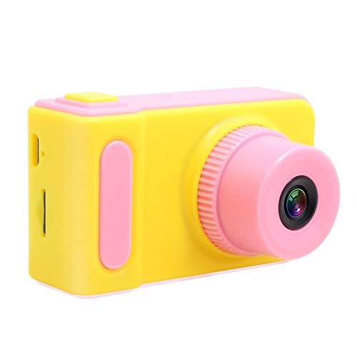 子供用デジタルカメラ 800万画素 2.0インチ 一眼レフ 子供用トイカメラIPS画面 4倍ズームミニカメラ 写真連続撮影 タイミング 日本語説明書付き (ピンク)