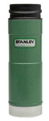 STANLEY スタンレー グリーン クラシック ワンハンド 真空 マグ 16oz 473mL 0.47L 水筒 [並行輸入品]