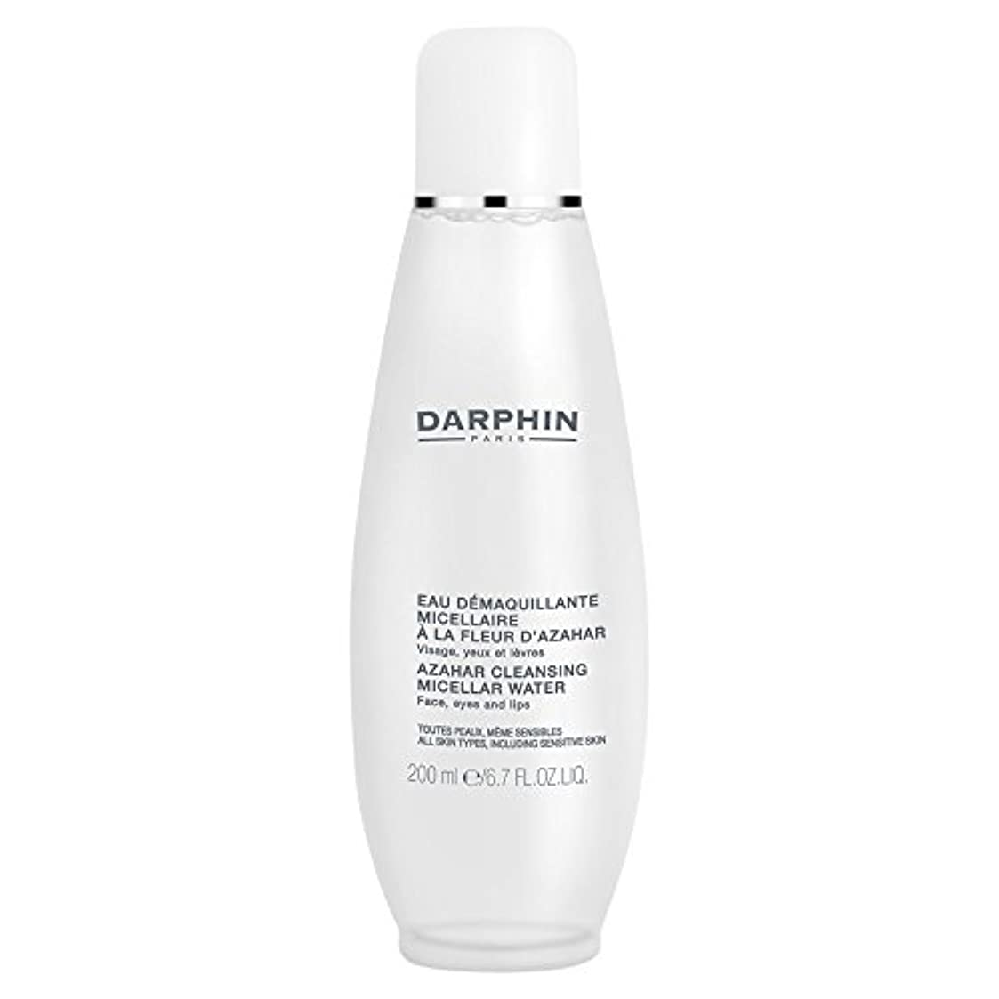 バリー気分絶縁するミセル水クレンジングアサールダルファン、200ミリリットル (Darphin) (x6) - Darphin Azahar Cleansing Micellar Water, 200ml (Pack of 6) [並行輸入品]