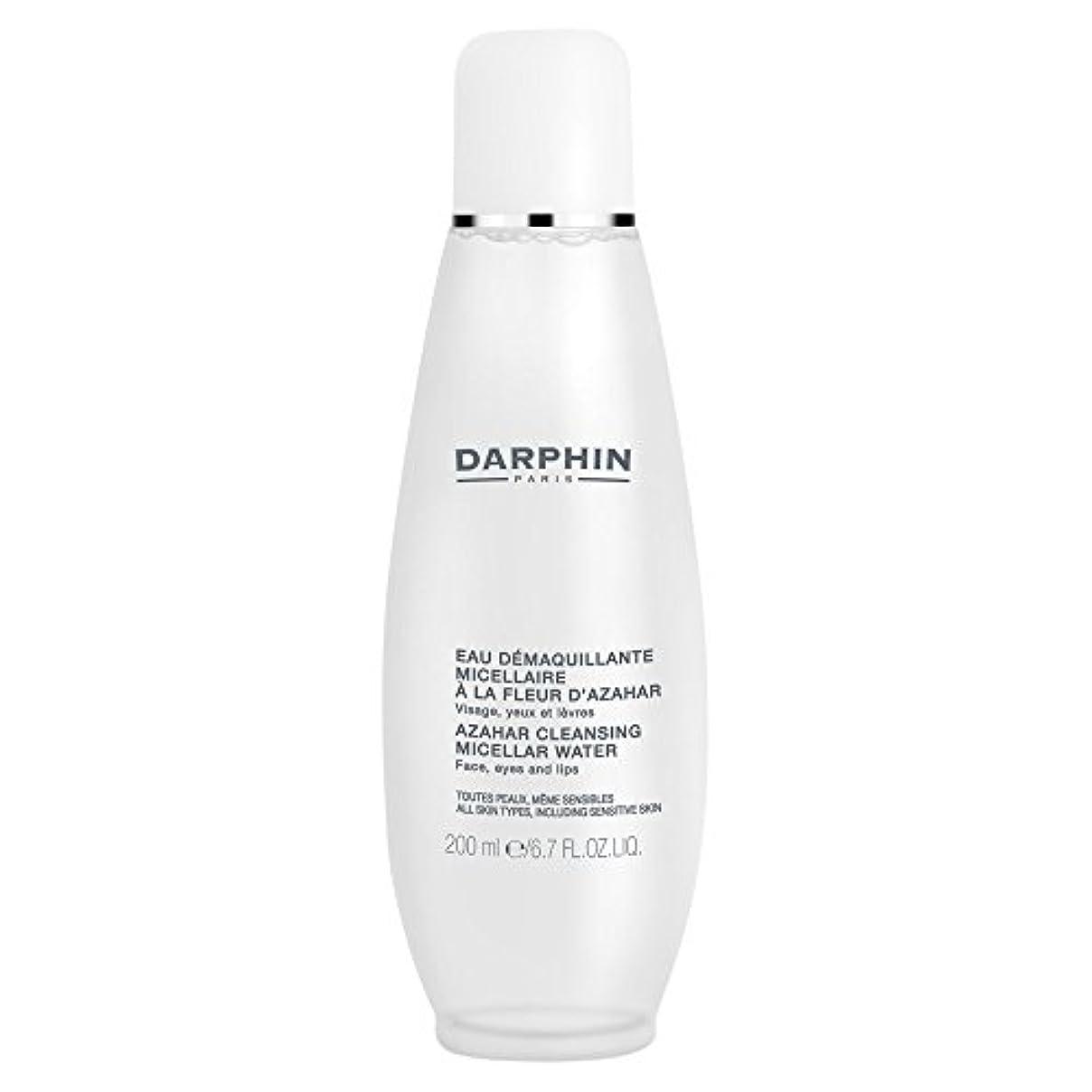 火傷銀河休憩ミセル水クレンジングアサールダルファン、200ミリリットル (Darphin) (x6) - Darphin Azahar Cleansing Micellar Water, 200ml (Pack of 6) [並行輸入品]