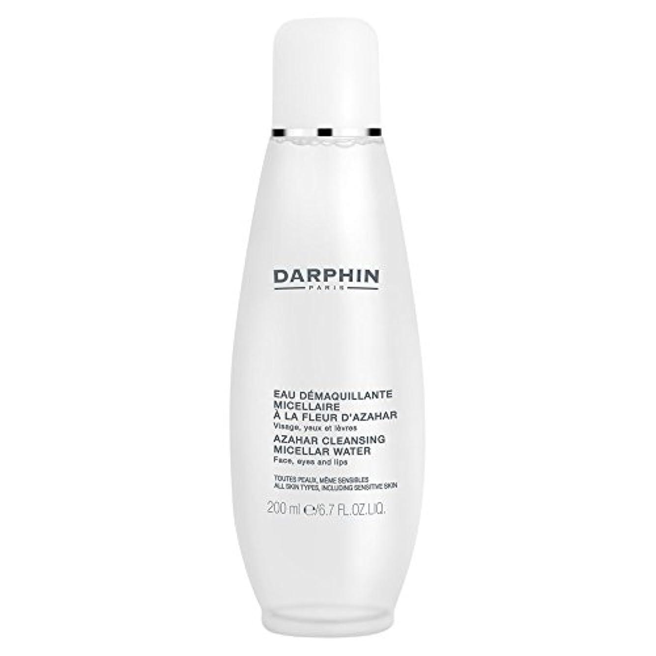 ポーチイブアラバマミセル水クレンジングアサールダルファン、200ミリリットル (Darphin) (x6) - Darphin Azahar Cleansing Micellar Water, 200ml (Pack of 6) [並行輸入品]