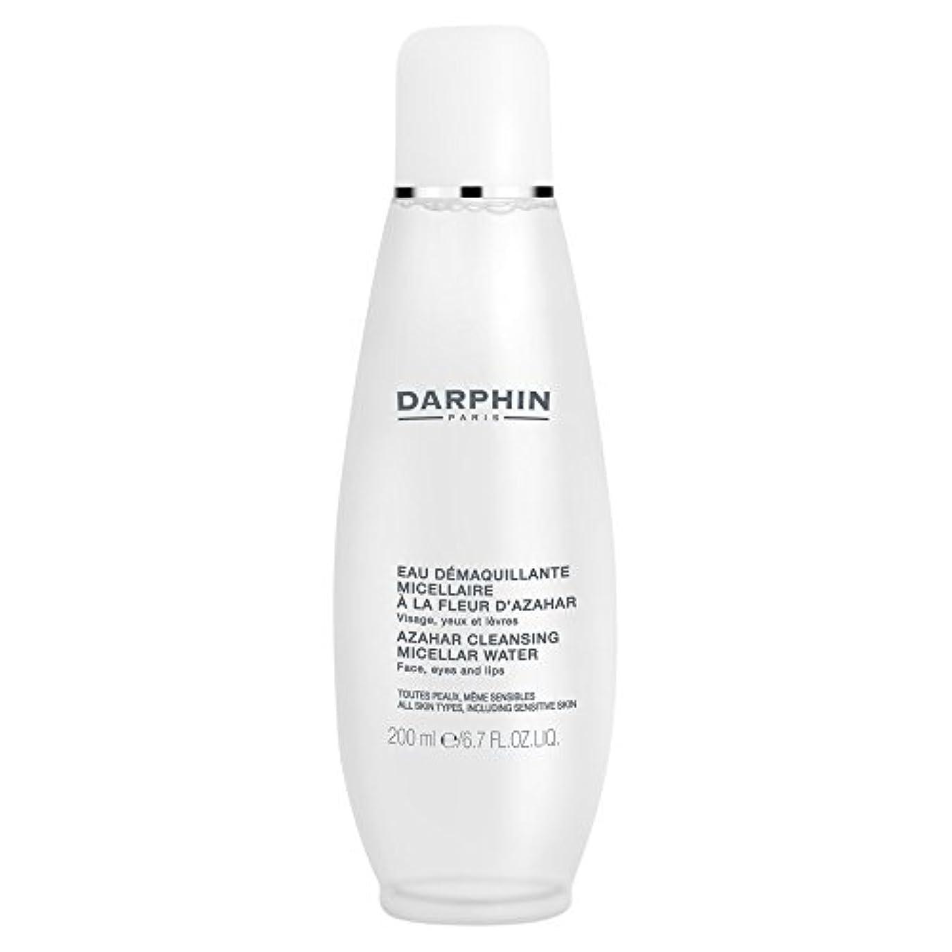 迷信合法飢饉ミセル水クレンジングアサールダルファン、200ミリリットル (Darphin) (x6) - Darphin Azahar Cleansing Micellar Water, 200ml (Pack of 6) [並行輸入品]