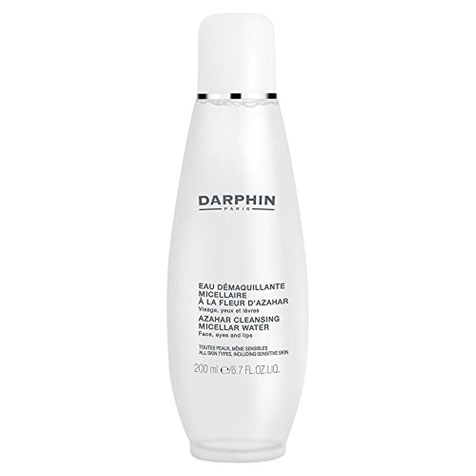 しおれた間老朽化したミセル水クレンジングアサールダルファン、200ミリリットル (Darphin) (x6) - Darphin Azahar Cleansing Micellar Water, 200ml (Pack of 6) [並行輸入品]