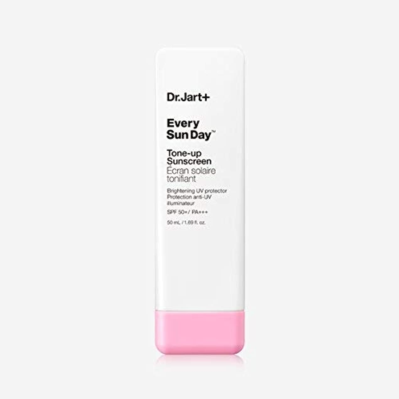 アーカイブ適格伝統的Dr.Jart+ Every Sun Day Tone-up Sunscreen SPF50+ PA+++ 50ml / ドクタージャルトゥエヴリサンデートーンアップサンスクリーンSPF50+PA+++50ml [並行輸入品]