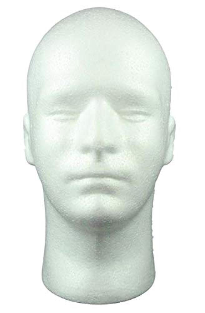 バイパス想定自治GJTr マネキンヘッド マネキン ヘッド トルソー 頭 ウィッグ スタンド ディスプレイ 男性 男