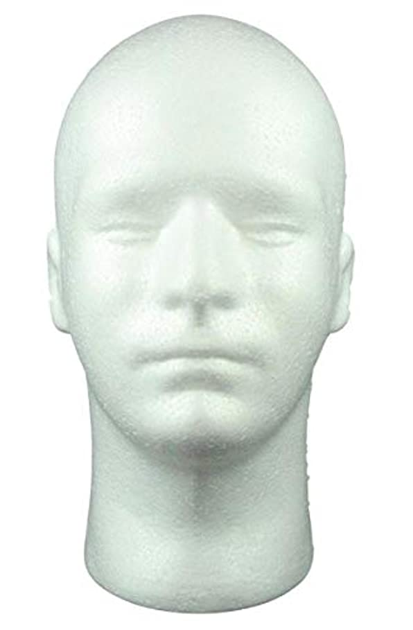 廃棄するカジュアル許可GJTr マネキンヘッド マネキン ヘッド トルソー 頭 ウィッグ スタンド ディスプレイ 男性 男
