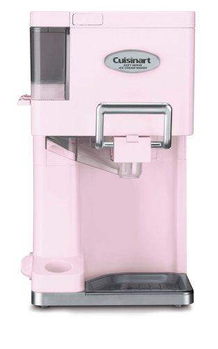 クイジナート ソフトクリームメーカー アイスクリーム ピンク