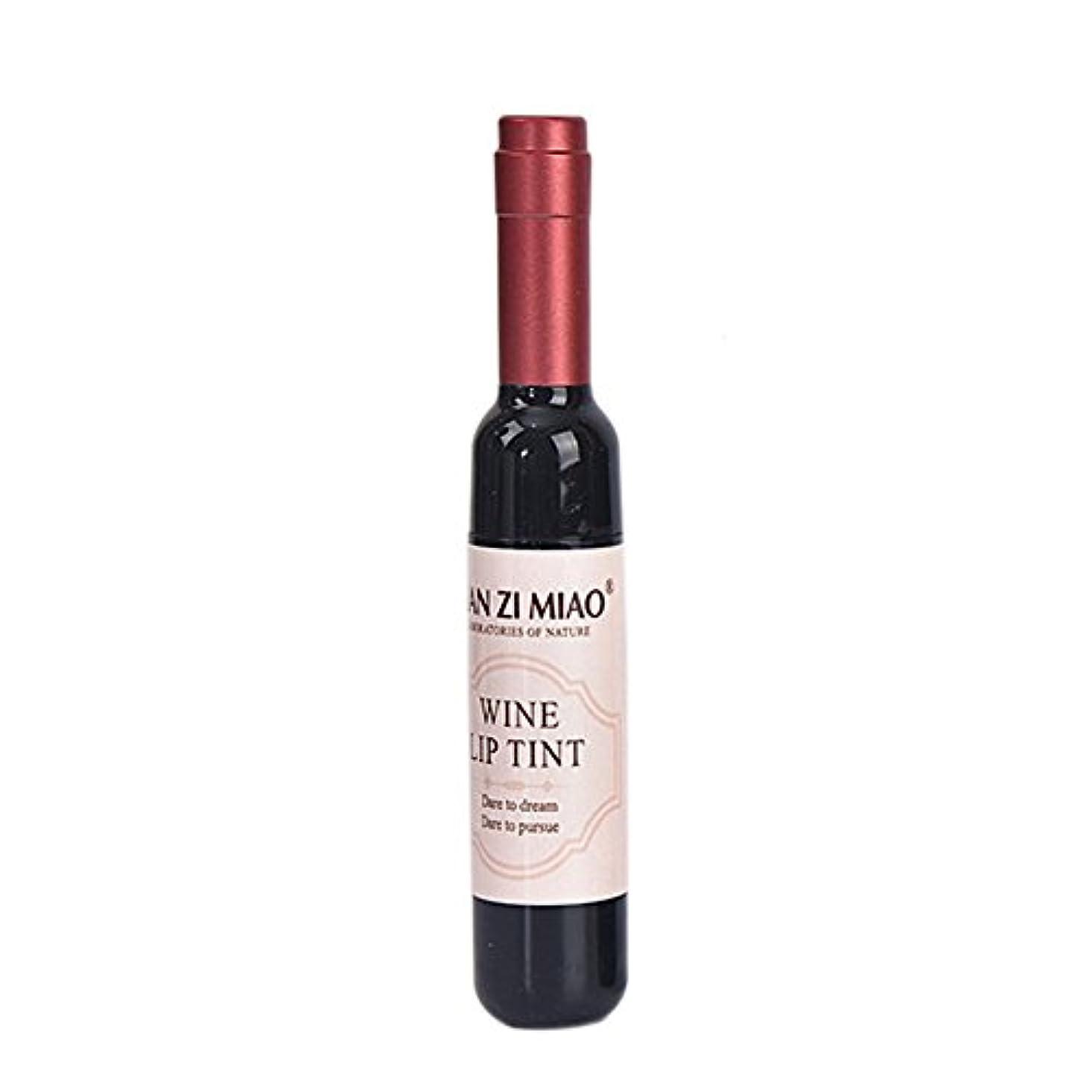 コインランドリー上向きロゴBETTER YOU (ベター ュー) リップグロス ワインボトル ワインボトルの形 長らく保つ 色が落ちない 魅力的な唇を与える 一個入れ (CR01:バラ色)