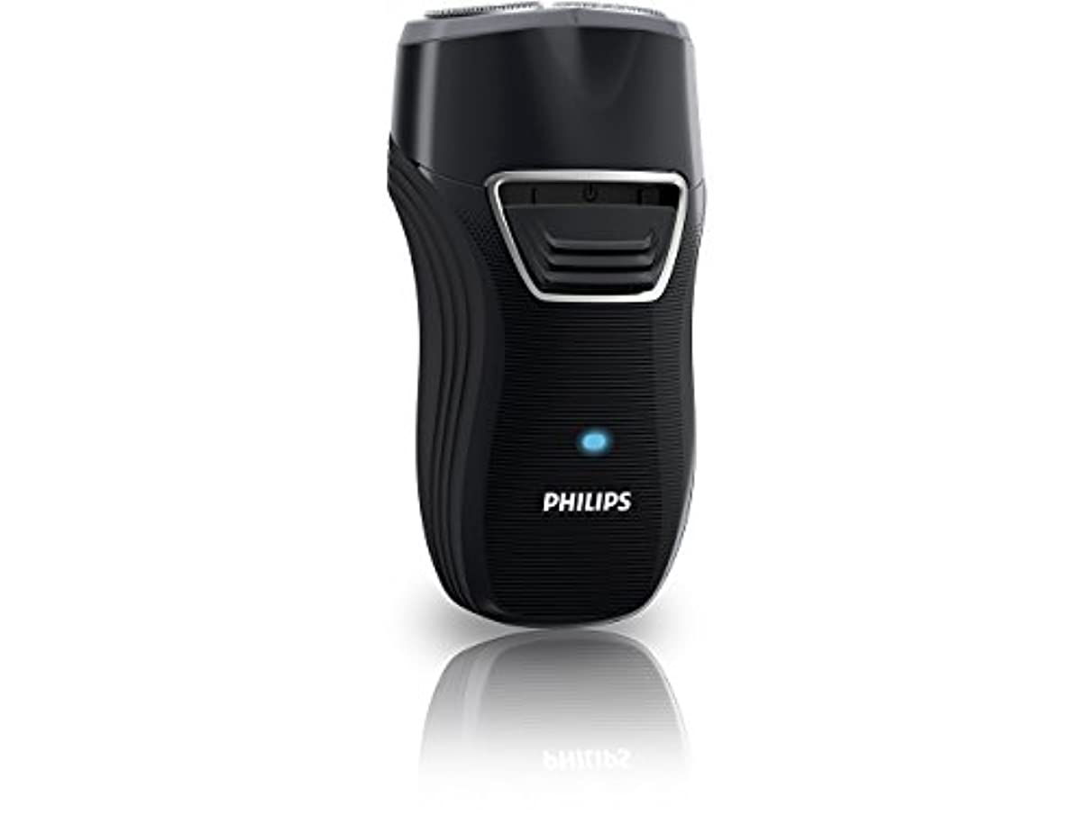 副詞操るきしむフィリップス ポータブルシェーバー メンズ電気シェーバー 充電式 ブラック PQ220/19