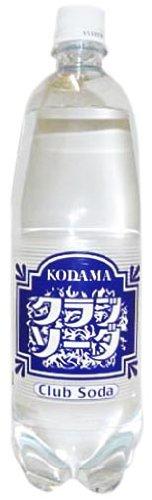 コダマ クラブソーダ ペット 1Lx12本