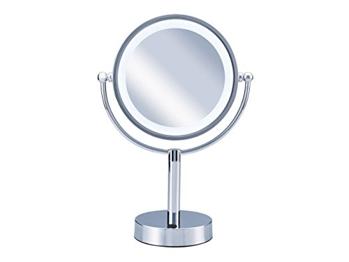 コイズミ 拡大鏡 LEDライト付き 中型φ145mm KBE...
