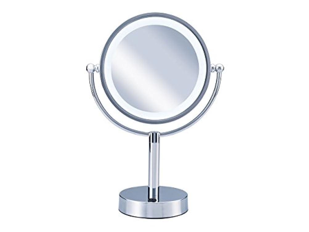 チャンピオンゴール柔らかさコイズミ 拡大鏡 LEDライト付き 中型φ145mm KBE-3010/S