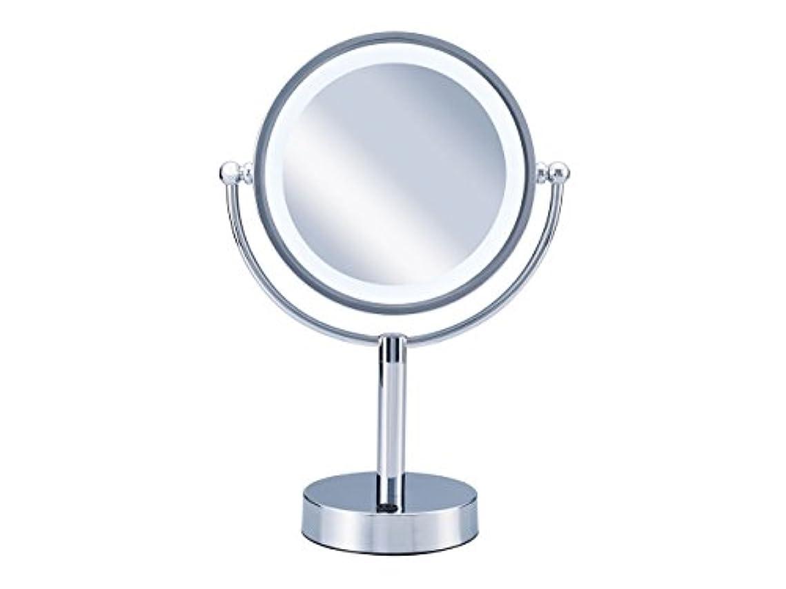 食い違い白雪姫開示するコイズミ 拡大鏡 LEDライト付き 中型φ145mm KBE-3010/S