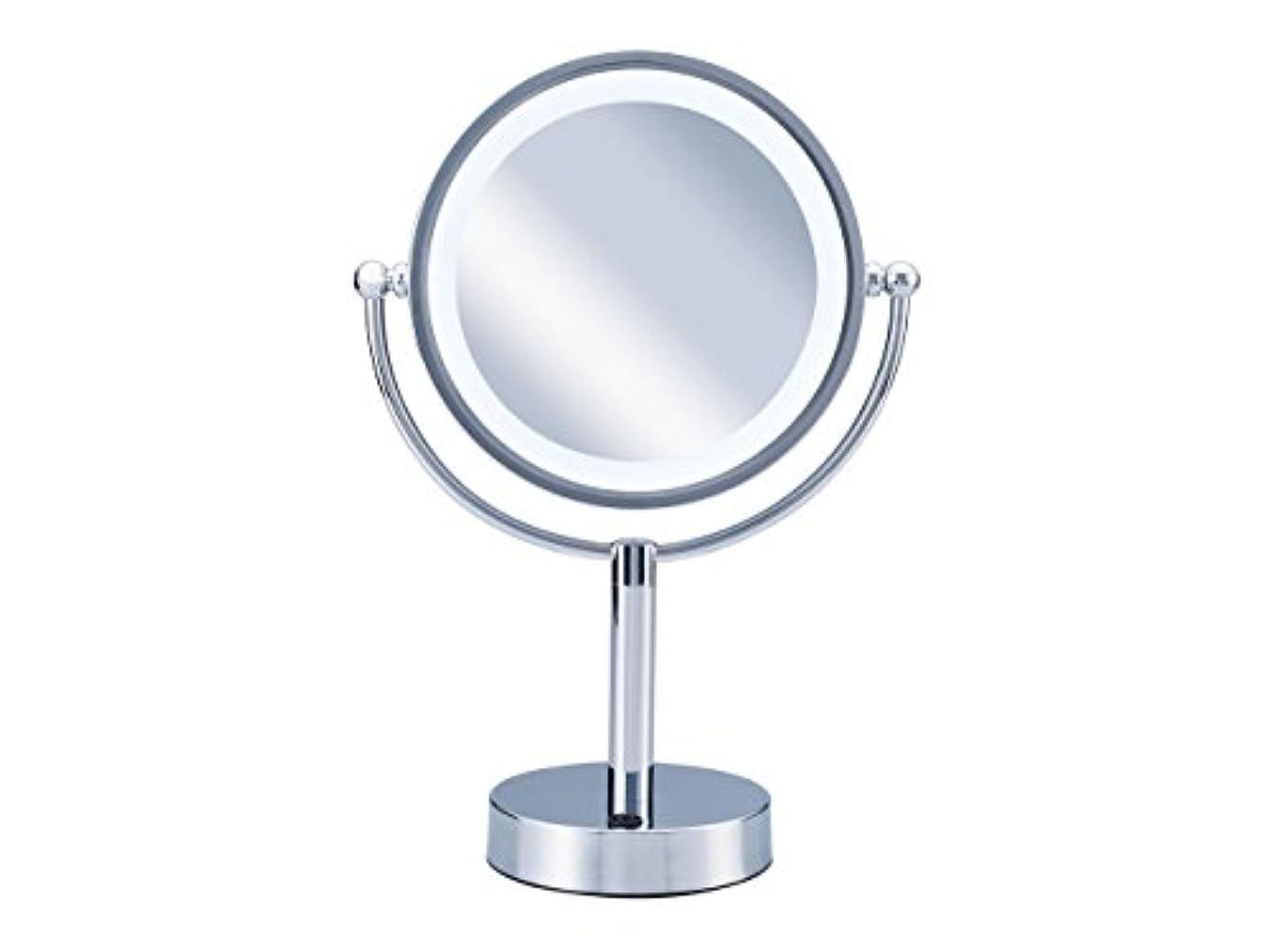 コイズミ 拡大鏡 LEDライト付き 中型φ145mm KBE-3010/S