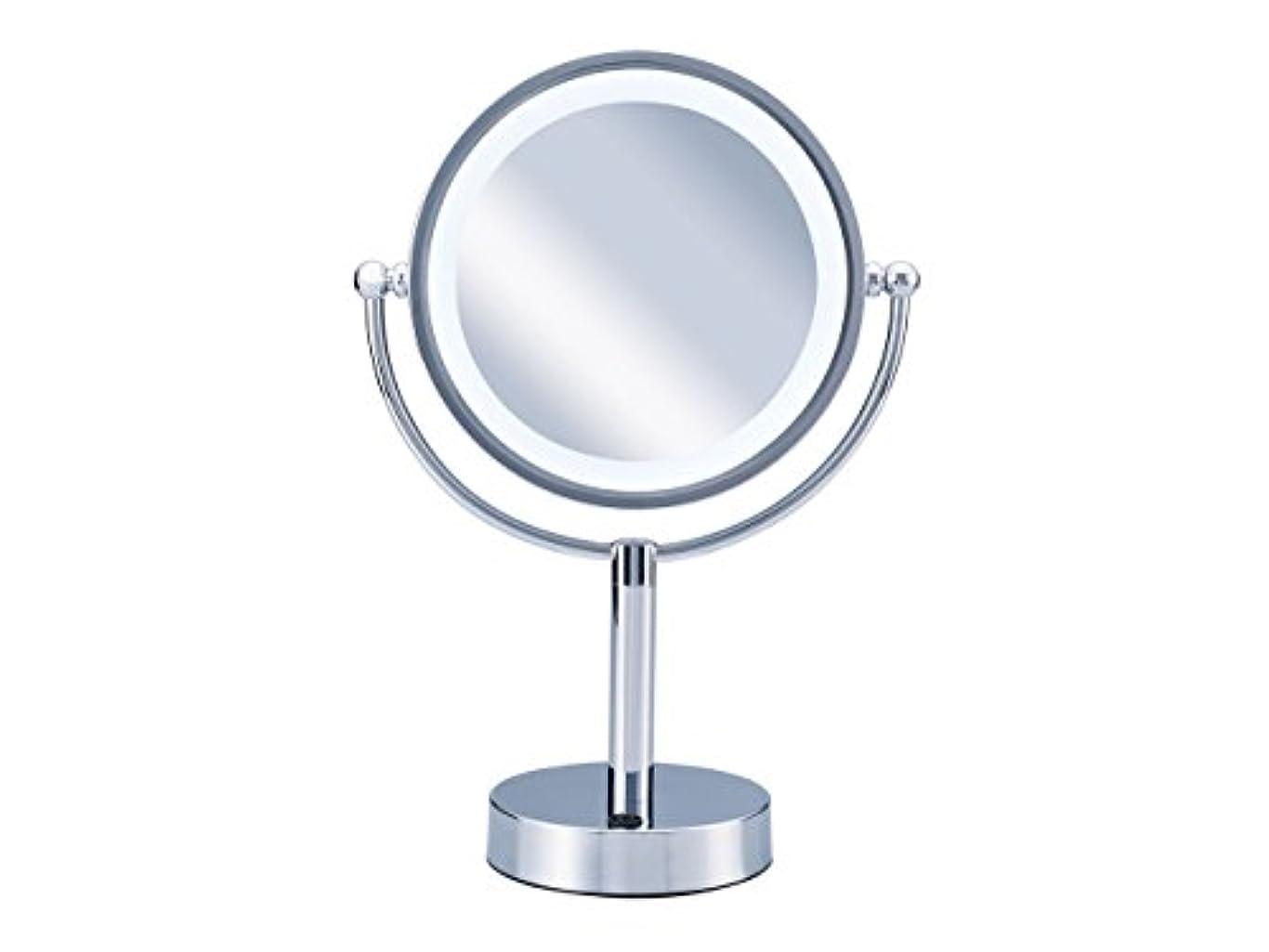 冷淡な州卒業コイズミ 拡大鏡 LEDライト付き 中型φ145mm KBE-3010/S