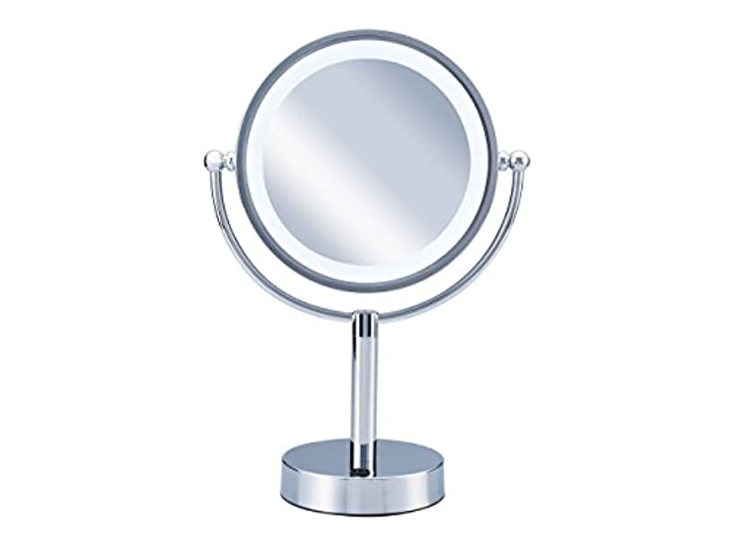 フライトホラー精通したコイズミ 拡大鏡 LEDライト付き 中型φ145mm KBE-3010/S