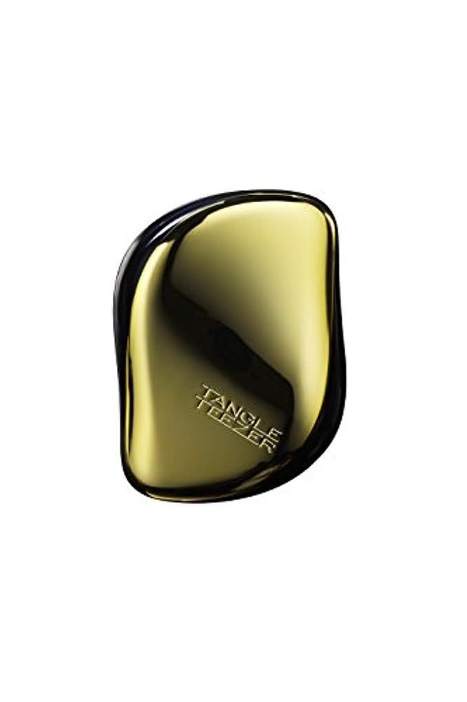 手がかりベース発信タングルティーザーコンパクトスタイラーオンザゴーディタングリングヘアブラシ - #ゴールドラッシュ 1pc