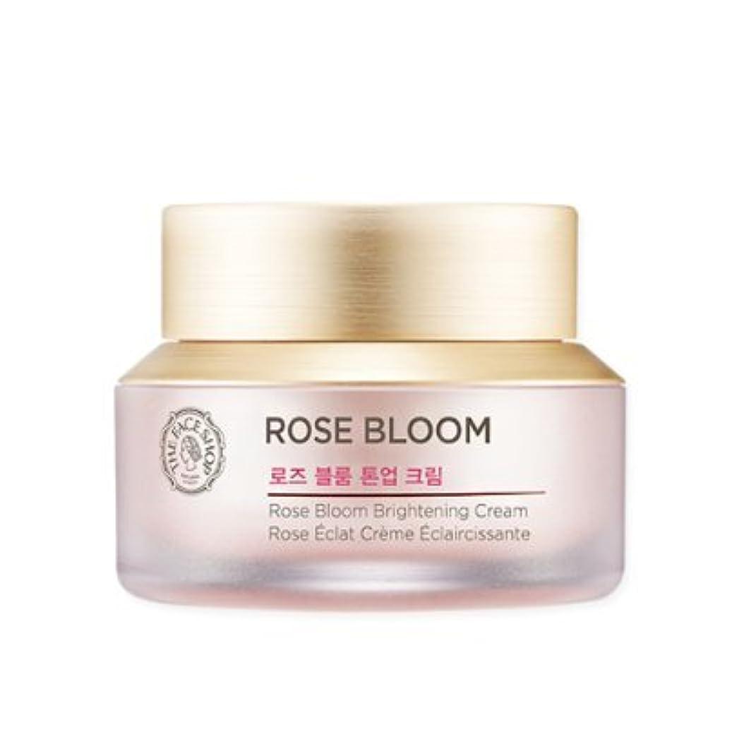 剛性リングバックイタリアのTHE FACE SHOP Rose Bloom tone-up cream ザフェイスショップ ローズブルームトン - アップクリーム [並行輸入品]