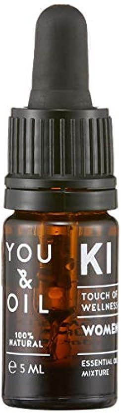 バージン目に見える形式YOU&OIL(ユーアンドオイル) ボディ用 エッセンシャルオイル WOMEN 5ml