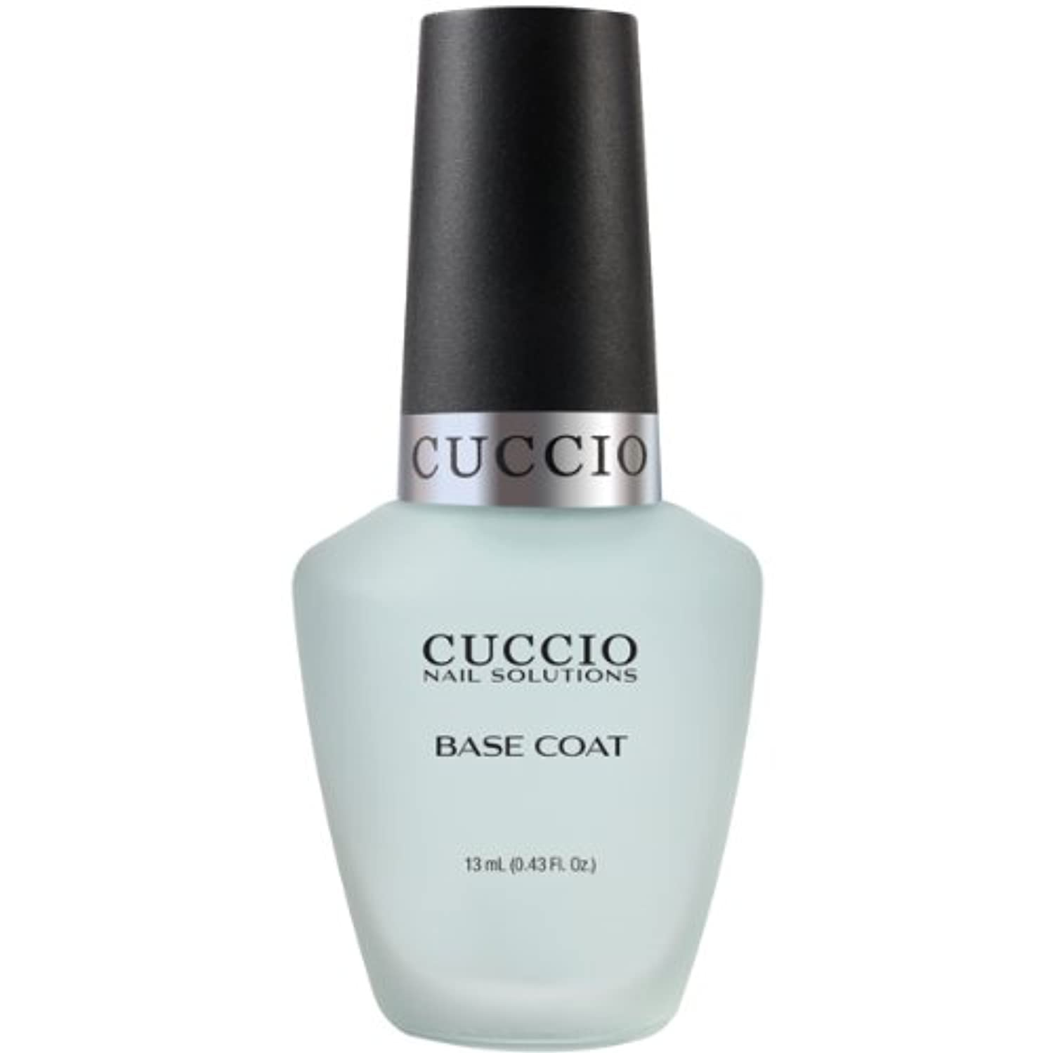 誤解させるジョイント疼痛Cuccio Colour Gloss Lacquer - Base Coat - 0.43oz / 13ml