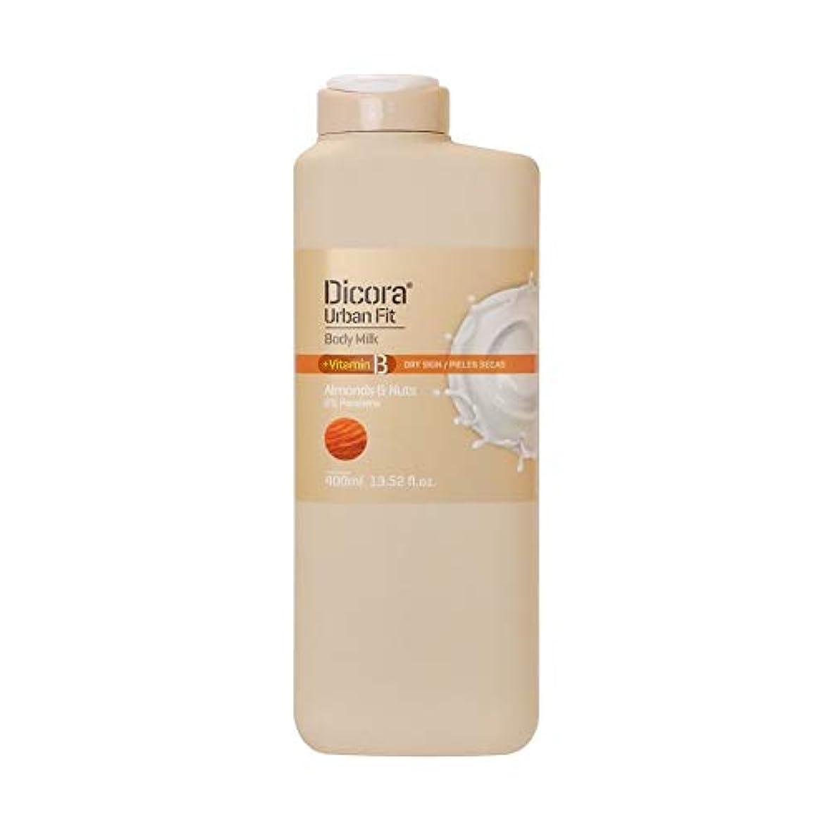 幅引き算乳白色ディコラ アーバンフィット ボディミルク AL&NT 400ml