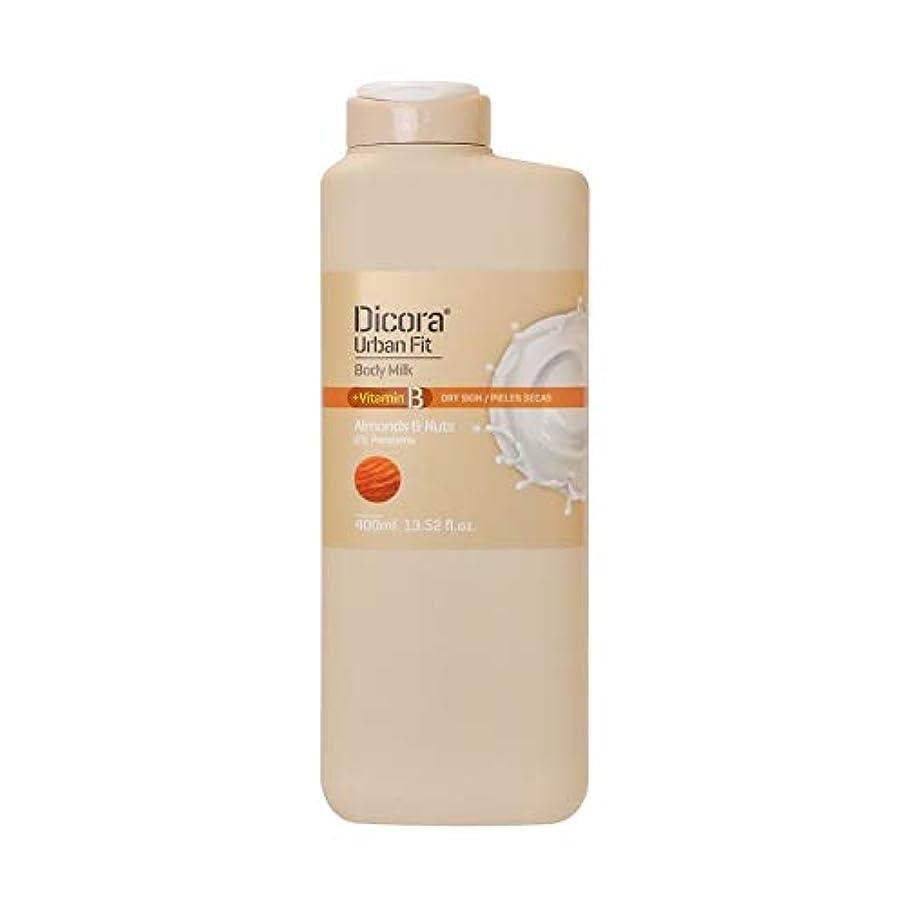 Dicora(ディコラ) ディコラ アーバンフィット シャワージェル MK&ML 400ml ボディクリーム アーモンド & ナッツの香り