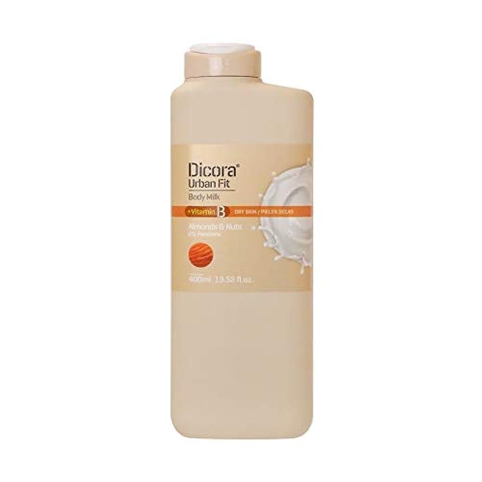 ナインへ国籍匿名Dicora(ディコラ) ディコラ アーバンフィット シャワージェル MK&ML 400ml ボディクリーム アーモンド & ナッツの香り