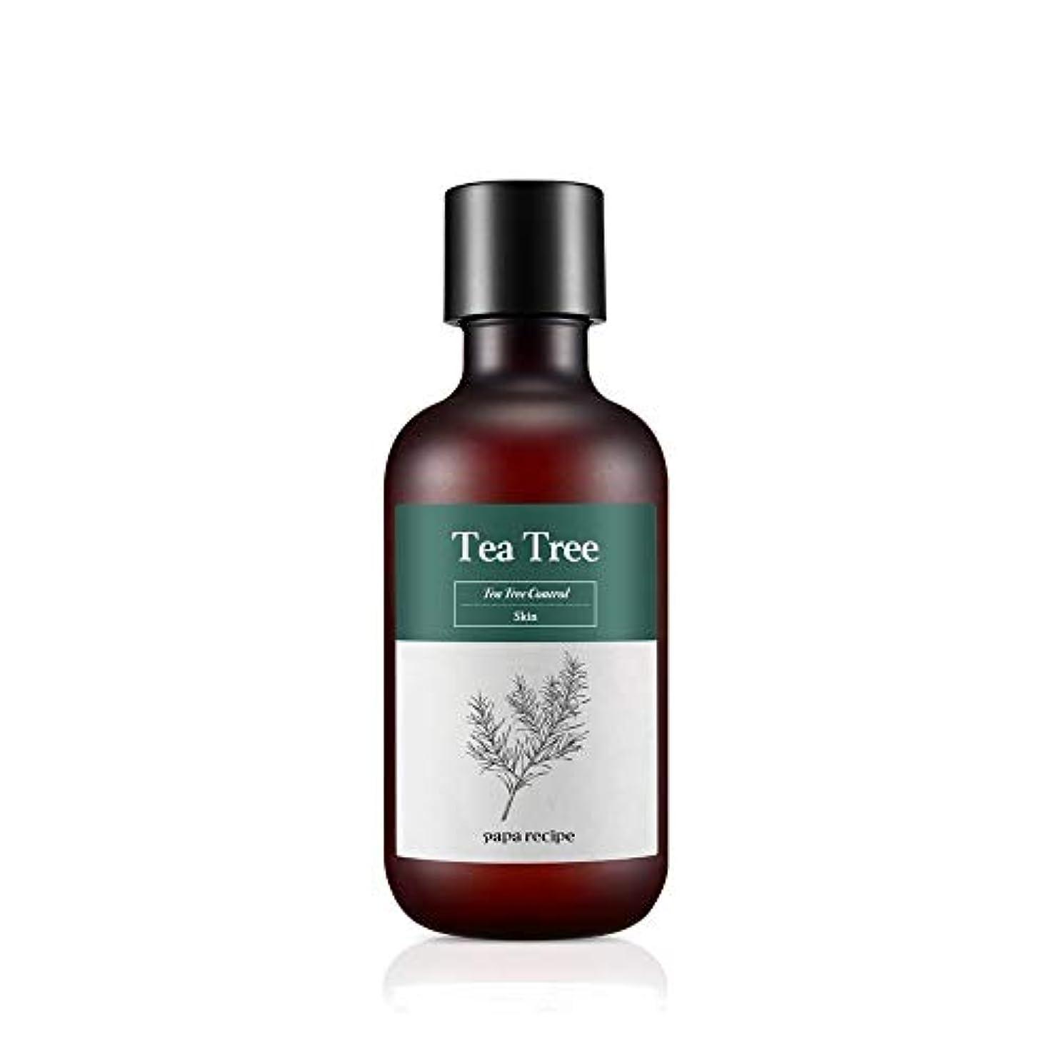 協力するうぬぼれハーフPapa Recipe Tea Tree Control Skin, 200 ml