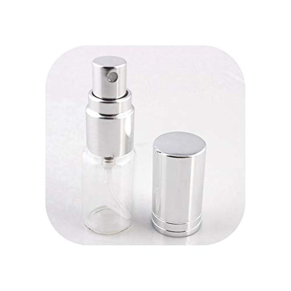 シーフードほとんどない労働アトマイザーの1pcs 5ミリリットル/ 10MLポータブルカラフルなガラスの詰め替え香水瓶は、SV1-S、旅行のための化粧品容器で噴霧器を空にする