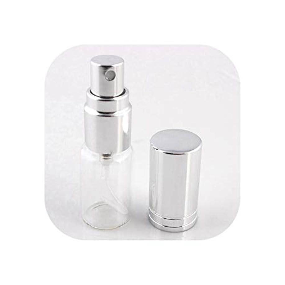 電話する嬉しいですインポート旅行のためのアトマイザー空の化粧品容器でスプレー、SV1-Lとの1pcsは5ミリリットル/ 10MLポータブルカラフルなガラスの詰め替え香水瓶