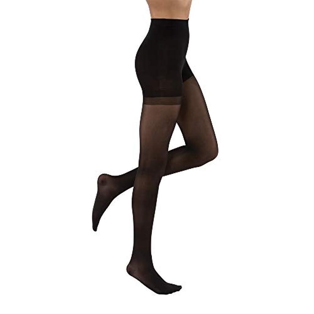 スロー宅配便摩擦Jobst 121516 Ultrasheer Pantyhose 20-30 mmHg Firm Support - Size & Color- Classic Black Medium