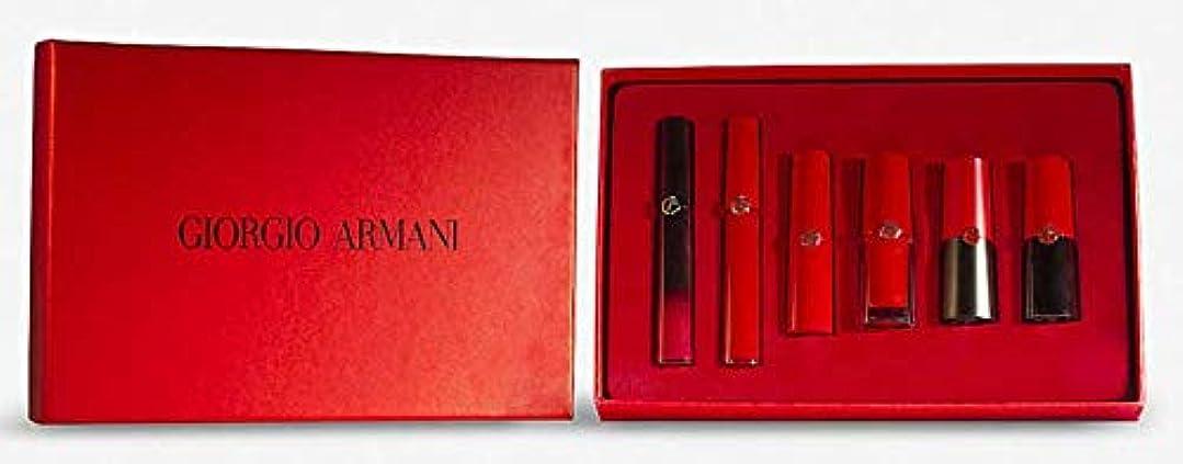 エンターテインメント評価するケントジョルジオアルマーニ GIORGIO ARMANI レッドリップコレクターズ リミテッドエディションボックス 1箱(6本入り) レッドリップ 赤色 口紅 リップ