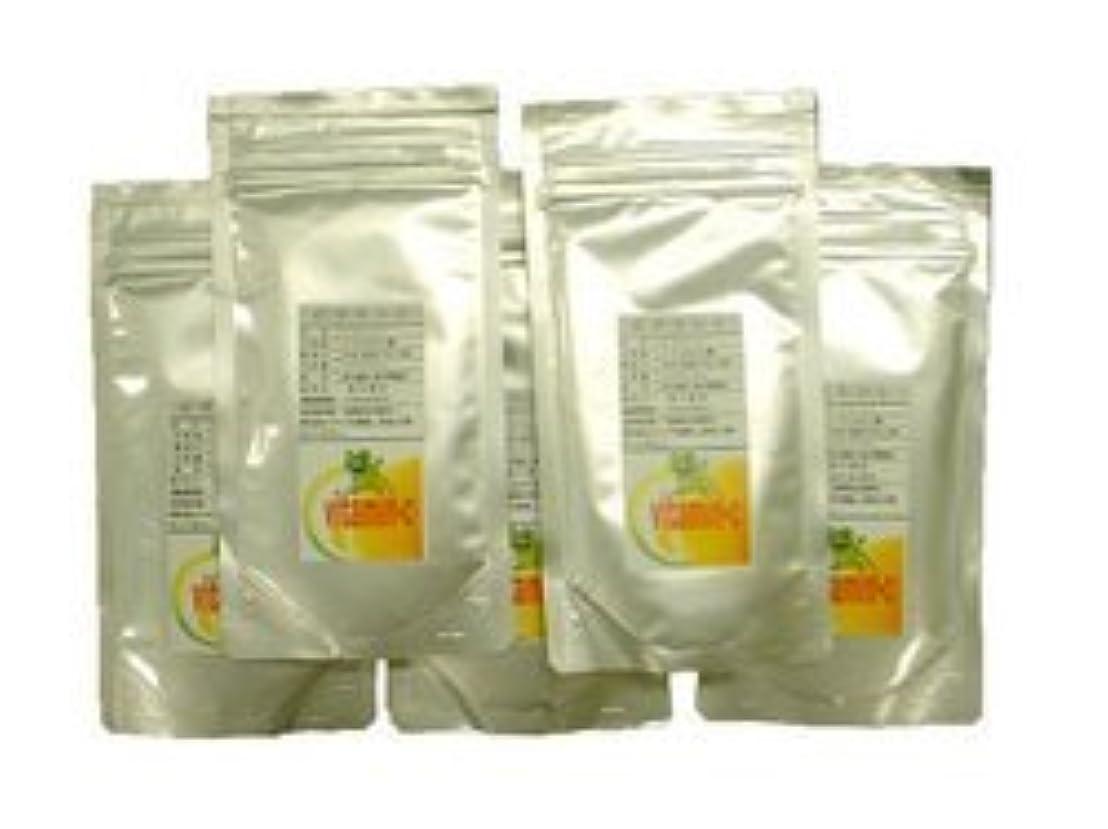 乱闘いらいらさせるみがきます【300g 5Pセット】高品質ビタミンC100%(L-アスコルビン酸)
