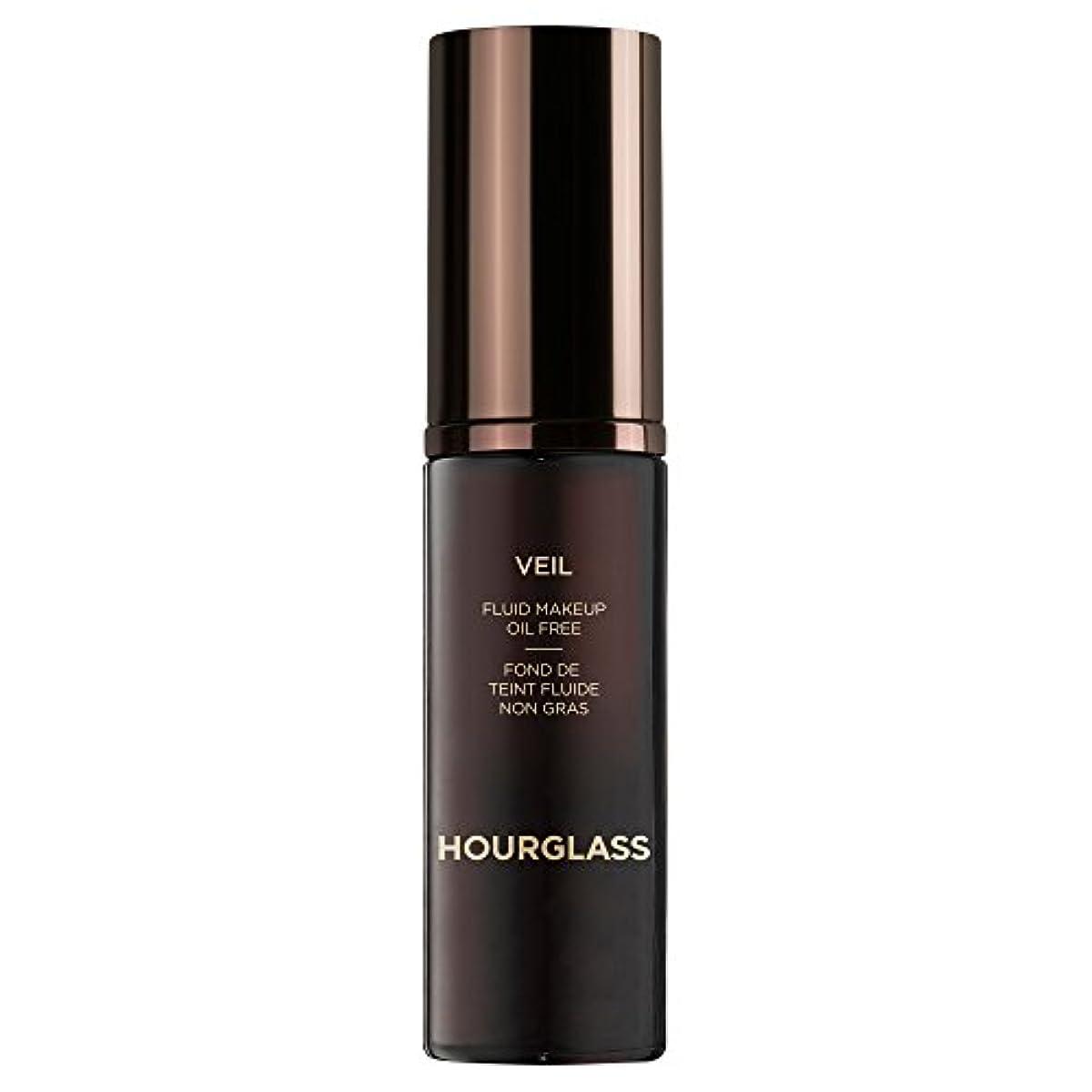 書誌子雷雨砂時計のベール流体化粧クルミ (Hourglass) (x6) - Hourglass Veil Fluid Makeup Walnut (Pack of 6) [並行輸入品]