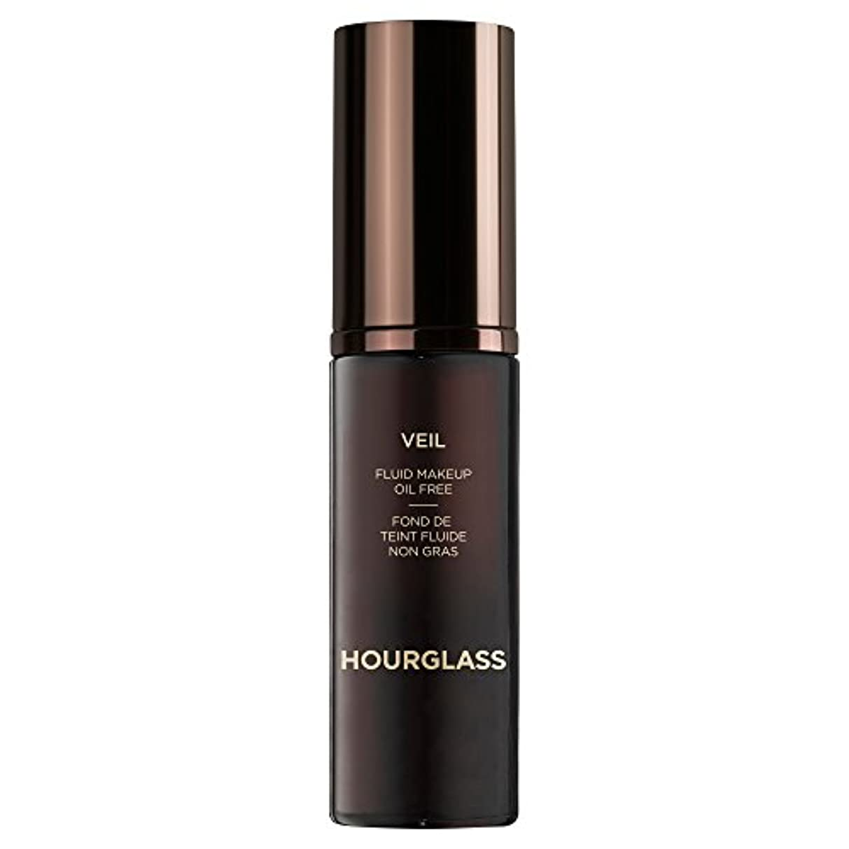 がんばり続けるプーノ六クロテン砂時計ベール流体メイクアップ (Hourglass) - Hourglass Veil Fluid Makeup Sable [並行輸入品]