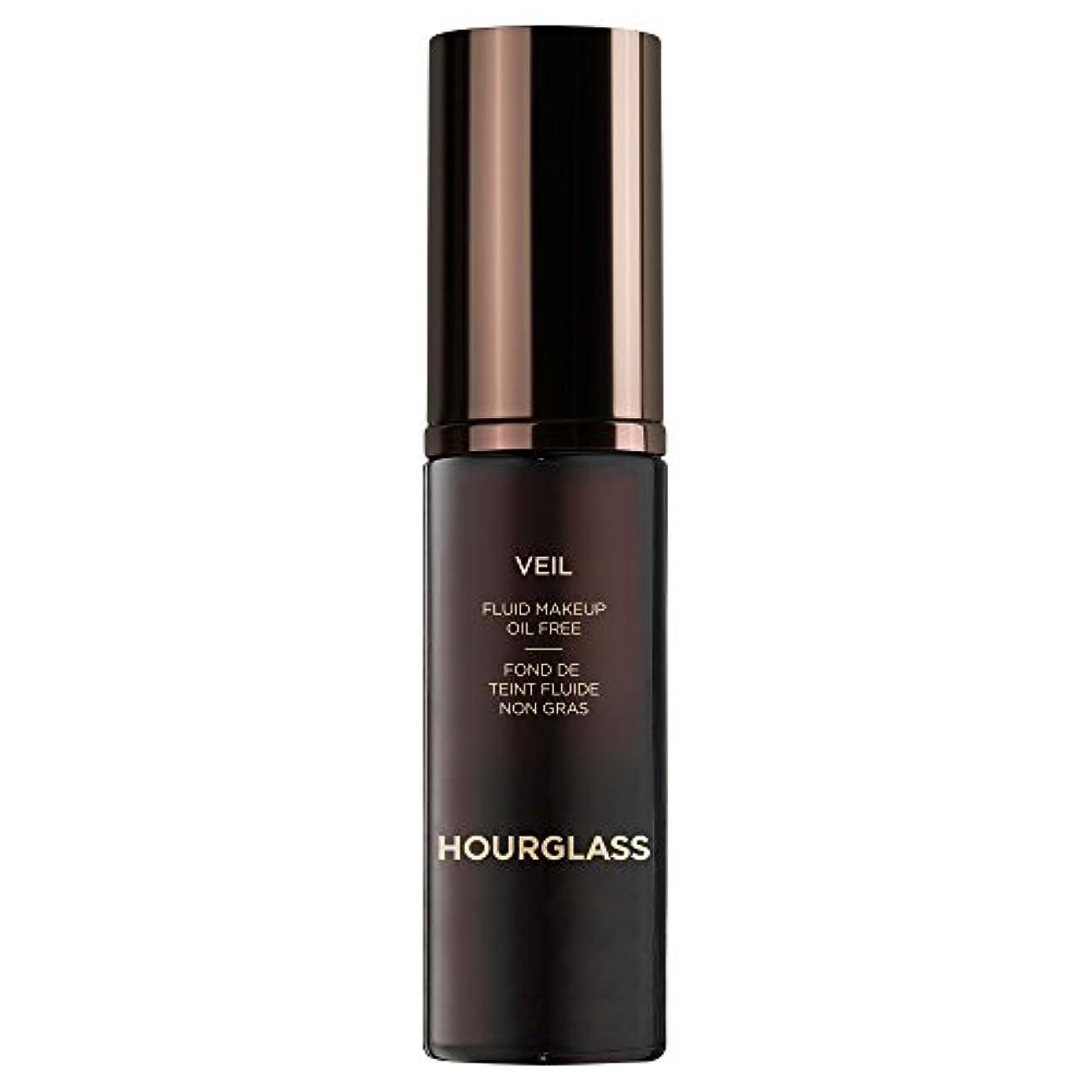 不条理フリッパー羨望砂時計のベール流体化粧クルミ (Hourglass) (x2) - Hourglass Veil Fluid Makeup Walnut (Pack of 2) [並行輸入品]