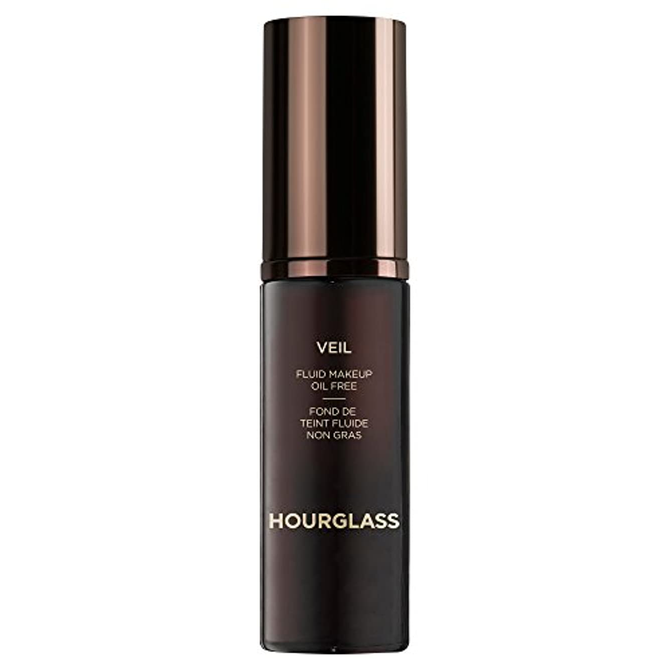 性別送金奇跡流体化粧栗ベール砂時計 (Hourglass) - Hourglass Veil Fluid Makeup Chestnut [並行輸入品]